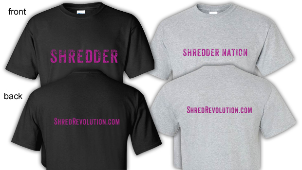 The Official SHRED T-Shirts